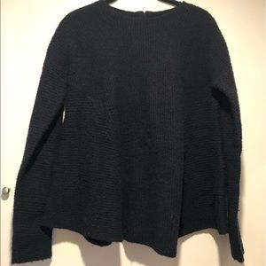 Cos Medium black wool sweater
